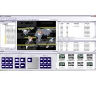 Licencia CMS NUUO Software NVR IP profesional de gestión centralizada para videovigilancia