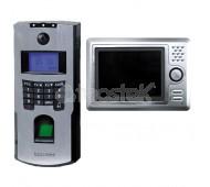 Videoportero IP con lector biometrico para control de accesos/presencia SECURTEK-408