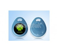 Llavero RFID tipo lágrima Frecuencia: 125KHz - EM4200  / MIFARE 13,56MHz