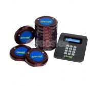 Pack Avisador de Clientes CCD (10 discos + cuna + transmisor)