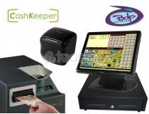 """Pack TPV Galicia Táctil SAM4S-BDP """"EMPRENDE"""" con cajón de cobro automático CashKeeper"""