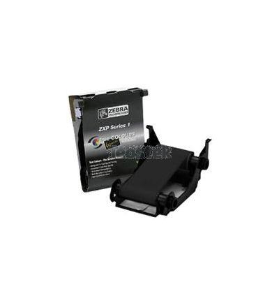 Ribbon ZEBRACARD para impresoras de tarjetas - LOAD-N-GO COLOR RIBBON para ZXP SERIES 1 YMCKO, 100 IMAGES por rollo