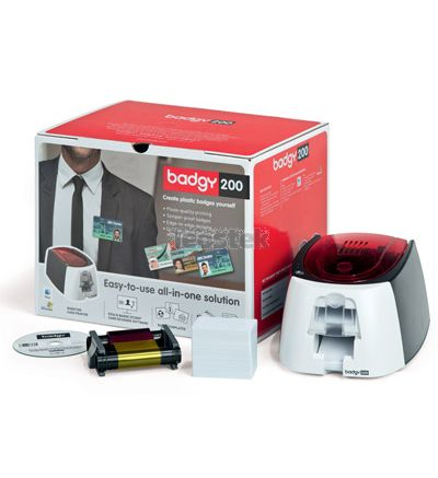 Evolis Badgy 200 - Impresora de tarjetas plásticas