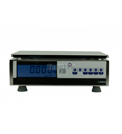 Balanza comercial - Serie BOX-INOX solo peso para PESAJE COMERCIAL