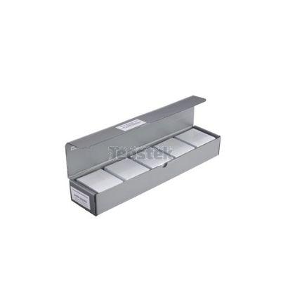 Caja de 500 tarjetas PVC transparentes
