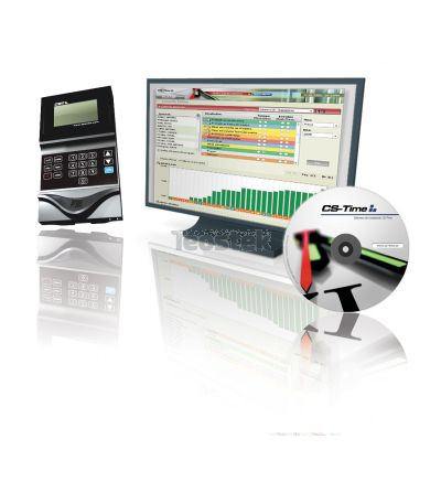 Control de presencia NET-Time CST34F de huella (KIT con software)
