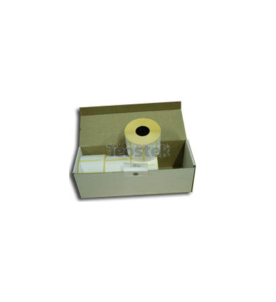 Caja de 12 Rollos de Etiquetas Termica Directa 38 x 25 - Zebra Z-Select 2000D Removable Ref. 800261-107
