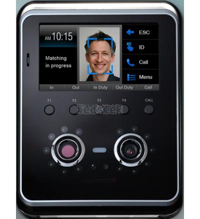 Sistema de Control Horario FACESCAN-PLUS de reconocimiento facial.