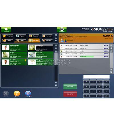 Programa TPV Sioges PRO ( Licencia de uso para 1 equipo )