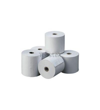 Caja de rollos de papel electra impresora matricial 57 x 65 mm