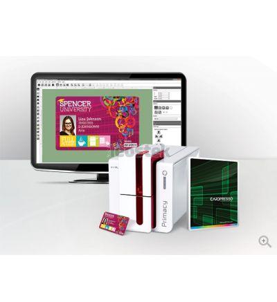 Software Diseño de Tarjetas Evolis CardPresso